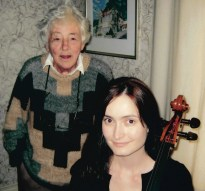 Judith Hyatt with Miranda Wilson, August 2010