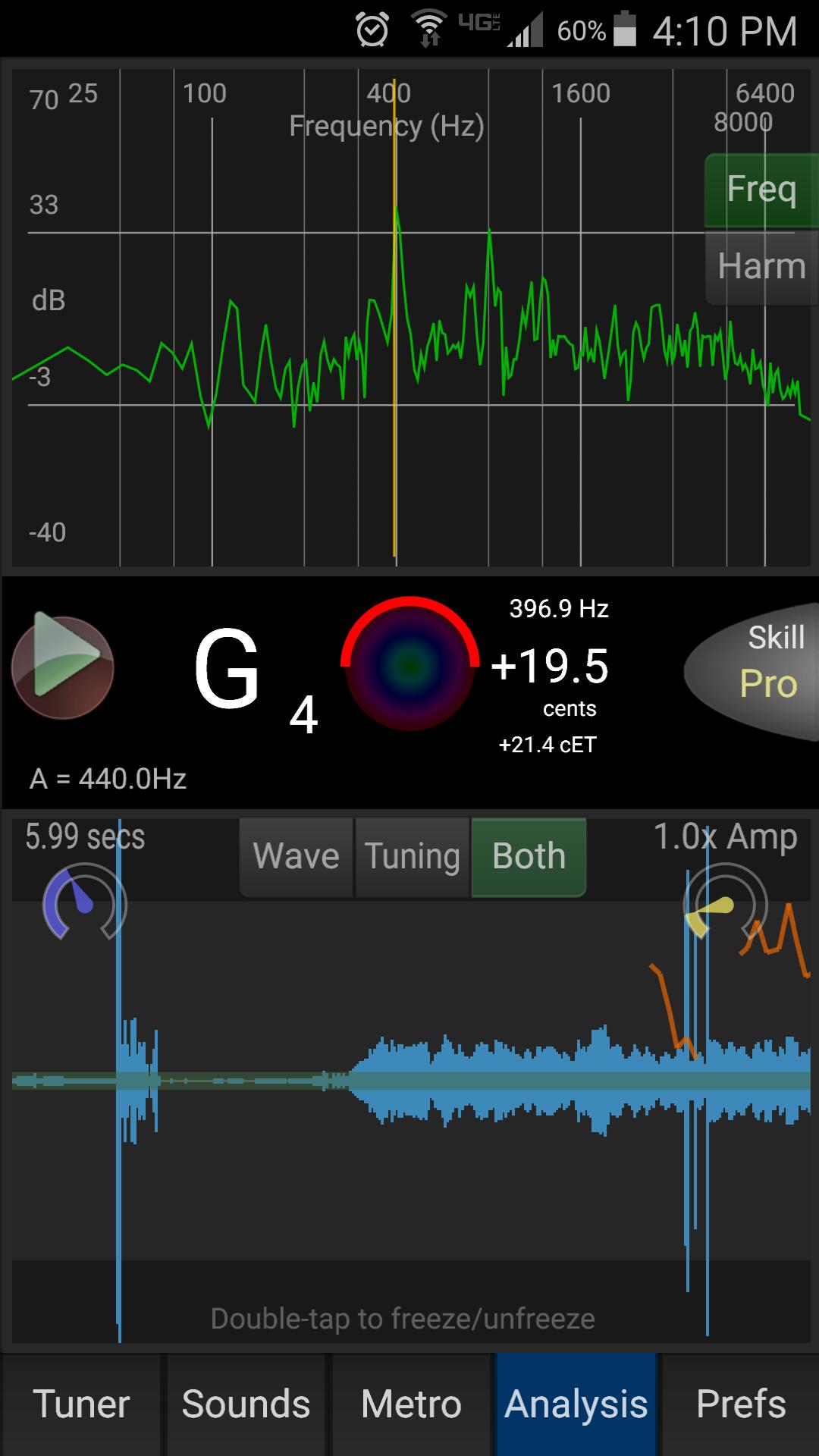 Review: Tonal Energy tuner app – Miranda Wilson